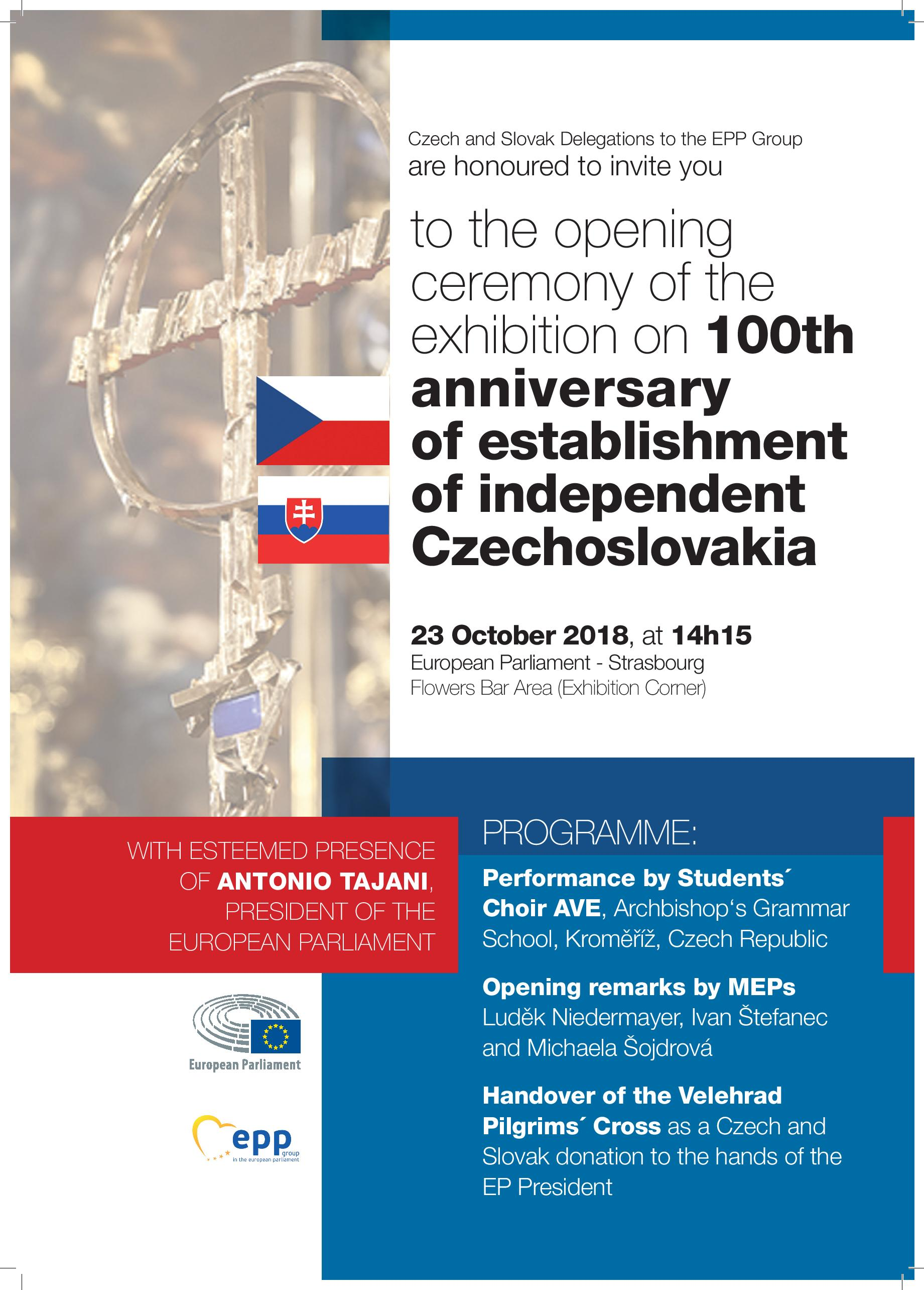 Invitation 23 10 2018 100th anniversary of Czechoslovakia page 001